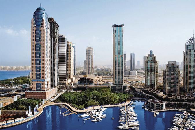 Dubai Marriott Harbour Hotel Suites Dubai ArabEmirates